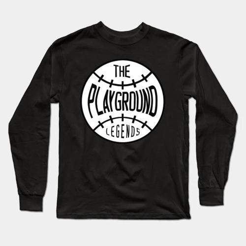 Playground Legends Baseball Long Sleeve T-Shirt(#0F84)