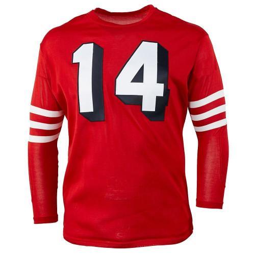 San Francisco 49ers 1955 Football Jersey -#0G97