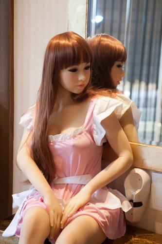 Mya - 145cm Big Breasts WM Love Dolls Cute TPE Sex Doll Japanese Girl