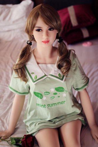 Aliy - 153cm No.98 Head WM Real Doll RealLife TPE Real Doll American Girl