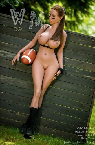 Liliana - 162cm F-Cup WM Love Dolls Female TPE Real Doll American Girl