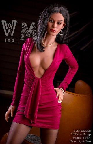 Nora - 172cm B-Cup WM Love Doll Cheap TPE Sex Dolls American Girl