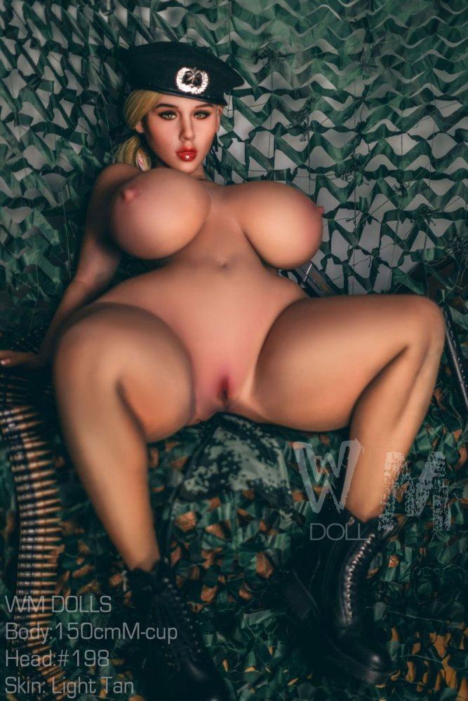 Abigail - 150cm M-Cup WM Dolls Realistic TPE Sex Doll American Girl