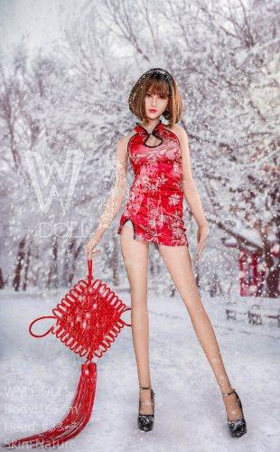165cm Makenna TPE WM Teen Real Dolls No33 Head Japanese Girl
