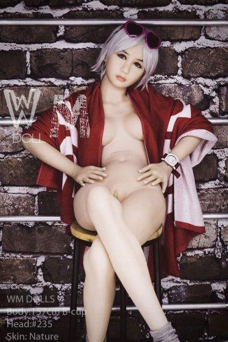 B-Cup 157cm Braelynn TPE Life Size WM Sexy Dolls With No235 Head Japanese Girl