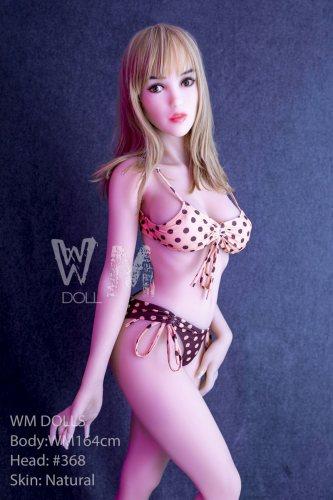 164cm Paris WM TPE Real Life Sex Doll With No368 Head European Girl
