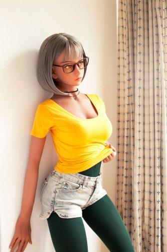 156cm Royalty TPE Cute WM Love Doll No153 Head Japanese Girl
