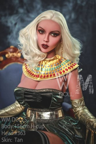 H-Cup 156cm Elle Realistic TPE WM Sexy Dolls With No363 Head Cleopatra European Girl