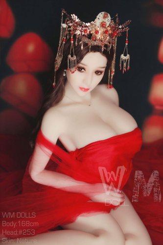 168cm Raelyn Best TPE WM Real Dolls No253 Head Ancient Costume Asian Girl