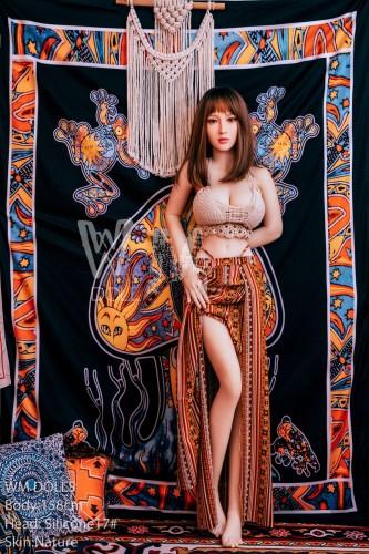 Remy 158cm C-Cup Silicone Head 17# WM Love Dolls Asian Girl