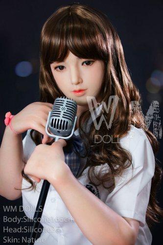 Sylvia 165cm Big Breast Silicone Doll 3# WM Adult Doll Asian Girl