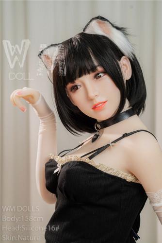 Kora Wm 158cm D-Cup Silicone Head 16# WM Sex Doll Asian Girl