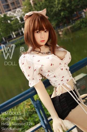Bristol Wm 158cm D-Cup Silicone Head 12# WM Love Doll Asian Girl