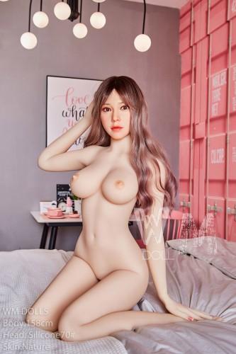 Nia Wm 158cm D-Cup Silicone Head 70# WM Sex Doll Asian Girl