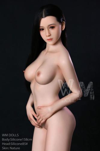 Edith 158cm Silicone C-Cup Pu-Fu 85# Head WM Love Dolls Japanese Girl