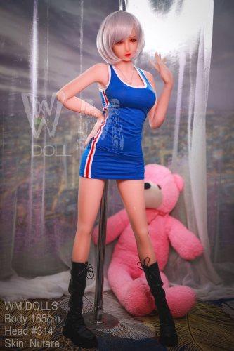 Sexy Teen 165cm Evelynn WM TPE Sexy Dolls No314 Head Asian Girl