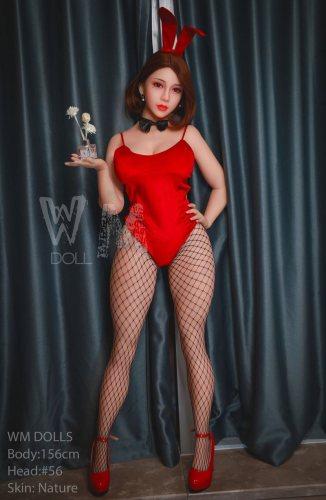 H-Cup 156cm Blair Cute WM TPE Real Doll No56 Header Asian Girl