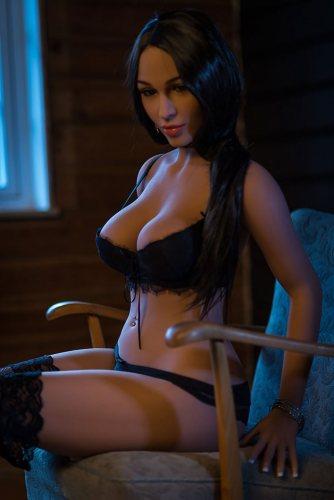 D-Cup 160cm Kaia WM TPE Best Sex Doll With No117 Head Asian Girl