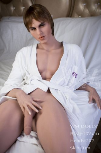 175cm Harley Male Sex Doll Big Penis Strong Baby With TPE WM Dolls