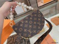 LV pearl semicircle bag, universal bag type