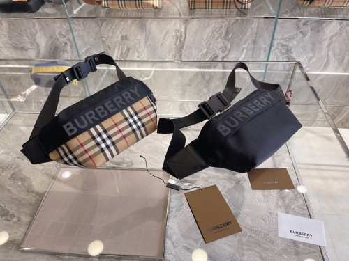 Burberry's classic plaid Fanny pack is unisex