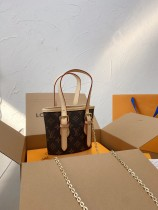LV MINI Vintage Bag with Color Changing Leather
