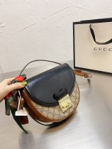Gucci's new Padlock saddle bag 23*19