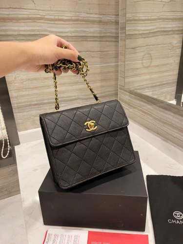 Chanel web celebrity hot style 💭 21SS early fall counter new one-shoulder cross-body bag