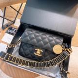 Chanel new gold coin bag coin bag