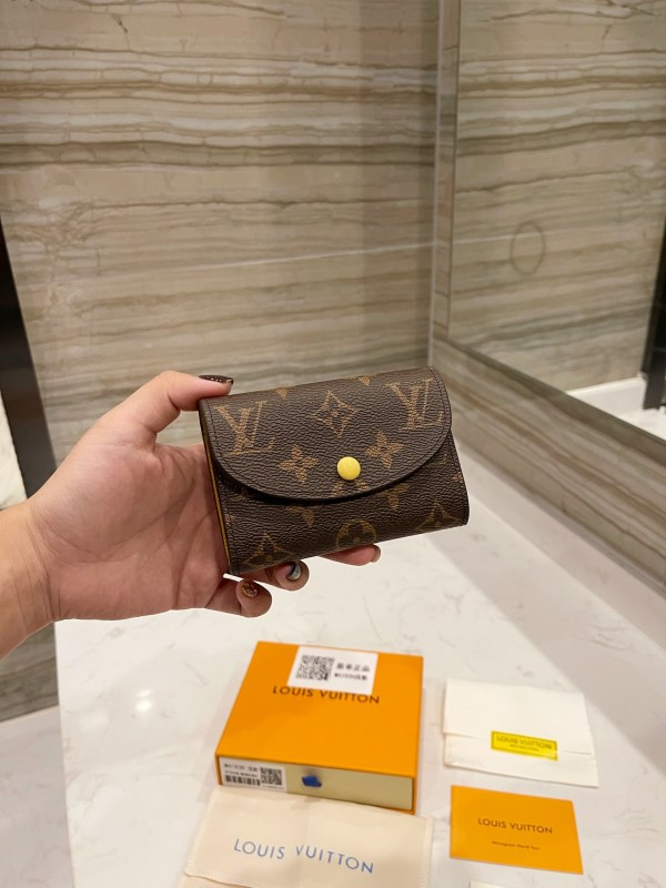 LV counter classic bean change wallet!