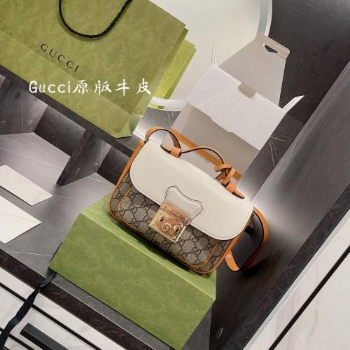 Gucci Padlock Leather chain handbag