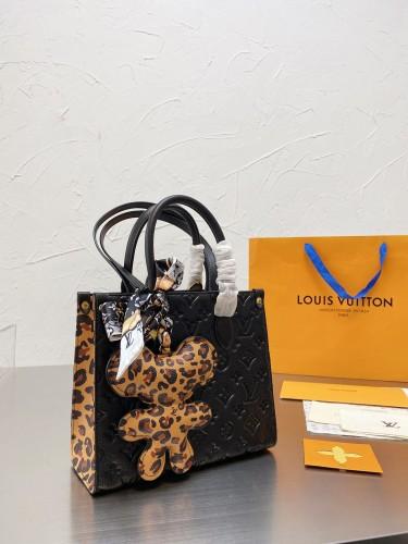 LV printed shopping bag mother bag