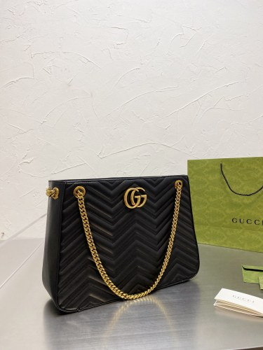 Gucci Autumn/Winter 2021 New versatile Marmont Cool Double G embroidery