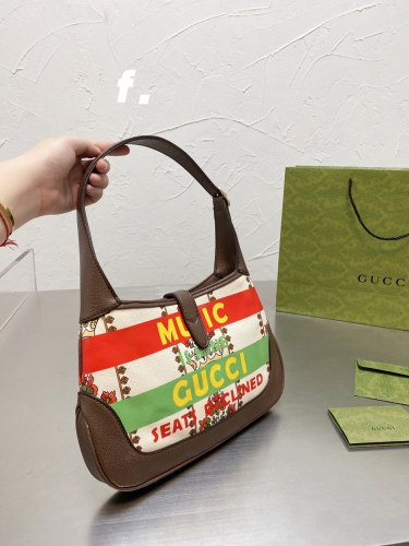 2021 New Underarm bag Gucci Jackie 1961 collection