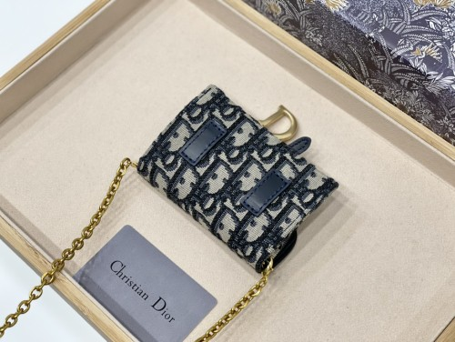 The Dior bag is tiny and super cute