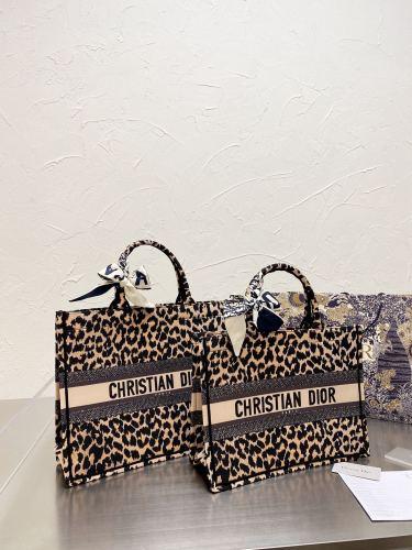 Dior shopping bag Purchase grade embroidery shopping bag