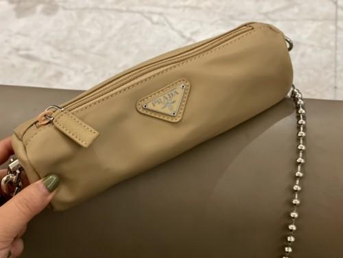 Prada Nylon underarm bag, designed to be super convenient and comfortable