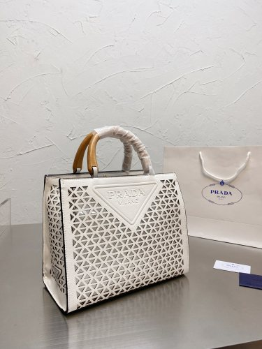 Prada's new hollowed-out tote