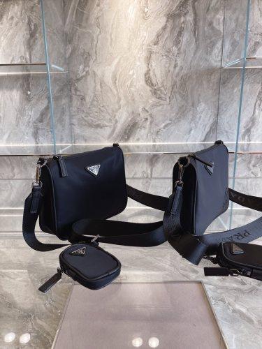 Co-branded  Prada X Cini Boeri 2-in-1  made entirely of  recycled nylon