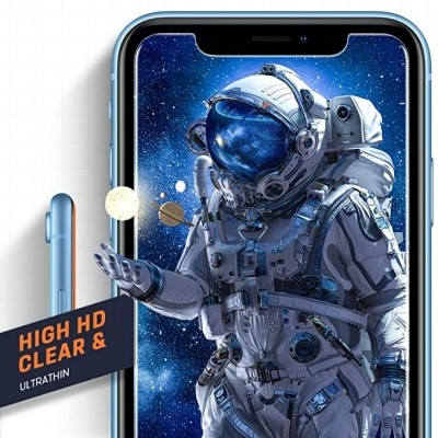Compatible with iPhone XR Screen Protector, IPhone 11 Screen protector,Tempered Glass Film for Apple