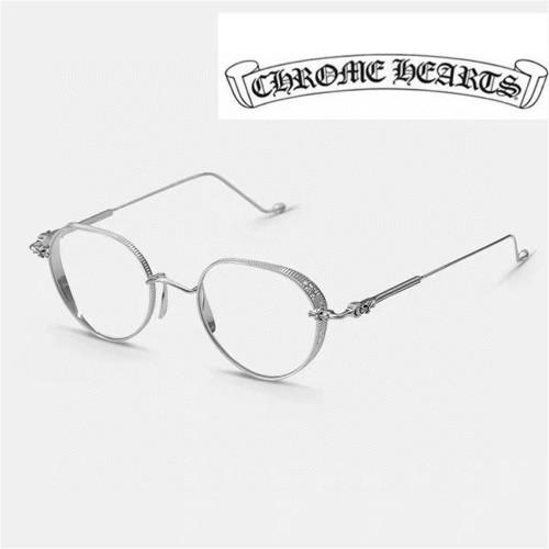 Replica Chrome Hearts Eyeglass Frame Titanium Metal VAGASOREASS FCE234