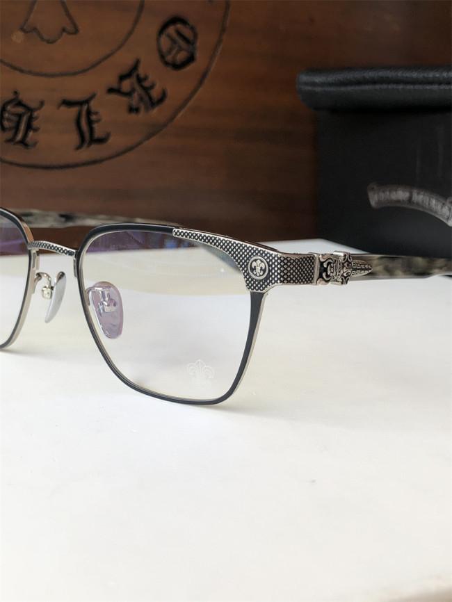 Replica Chrome Hearts Eyeglass Frame Titanium Metal NASTYFREEZE FCE233