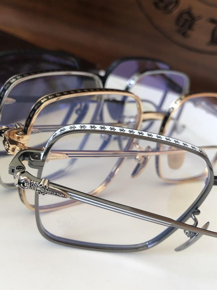 Chrome Hearts eyeglass optical frame Titanium Metal CH8040 FCE247