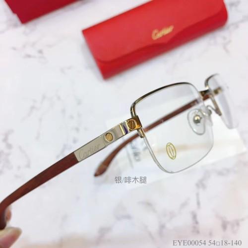 Cartier Eyeglass Wooden Leg EYE00054 Wood Optical Frames FCA335