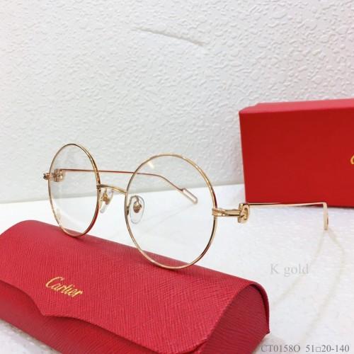 Cartier Metal CT0158O Eyeglass Optical Frames FCA325
