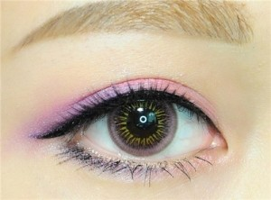 Enlarge Colour contact lens Eye's color Pink