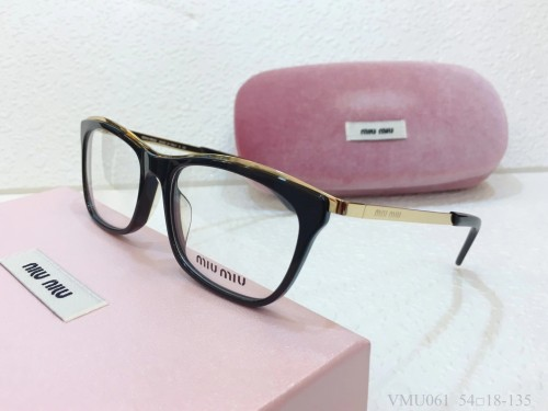 MIU MIU Glasses For Women VMU061 Eyeware Optical Frame FMI166