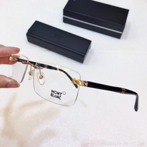 MONT BLANC Glass MB0449 Eyeware Optical Frames FM366