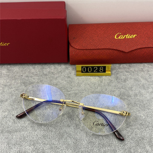 Replica Cartier Eyewear optical frame CT 0028 FCA296