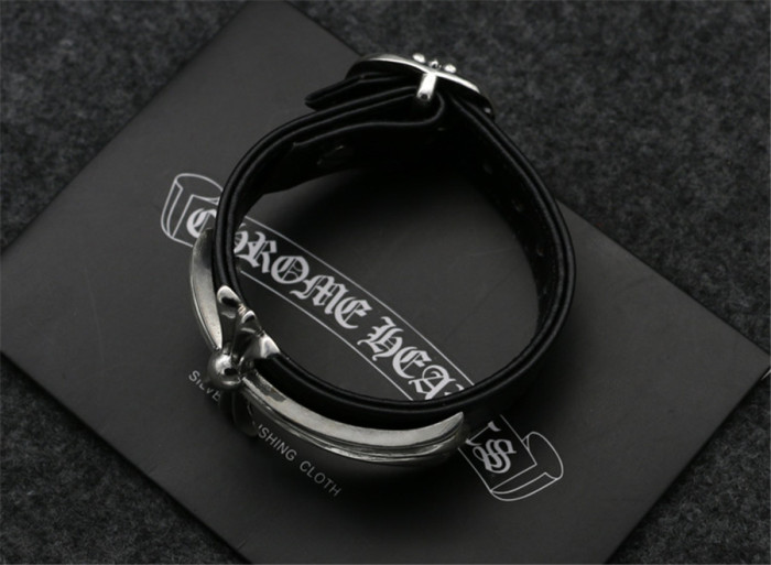 Chrome Hearts Bangle Watch Band CH CROSS CHT047 Solid 925 Sterling Silver